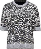 By Malene Birger Black Allover Pastel Sequined Top
