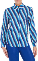 House of Holland Patterned Silky Feel Shirt