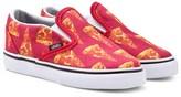 Vans Classic Slip On Pizza Print Shoes