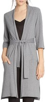 Halston Belted Long Cardigan