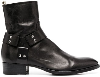 Officine Creative Strapped Ankle Boots