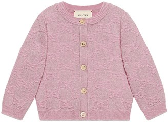 Gucci Baby GG sparkling wool cardigan