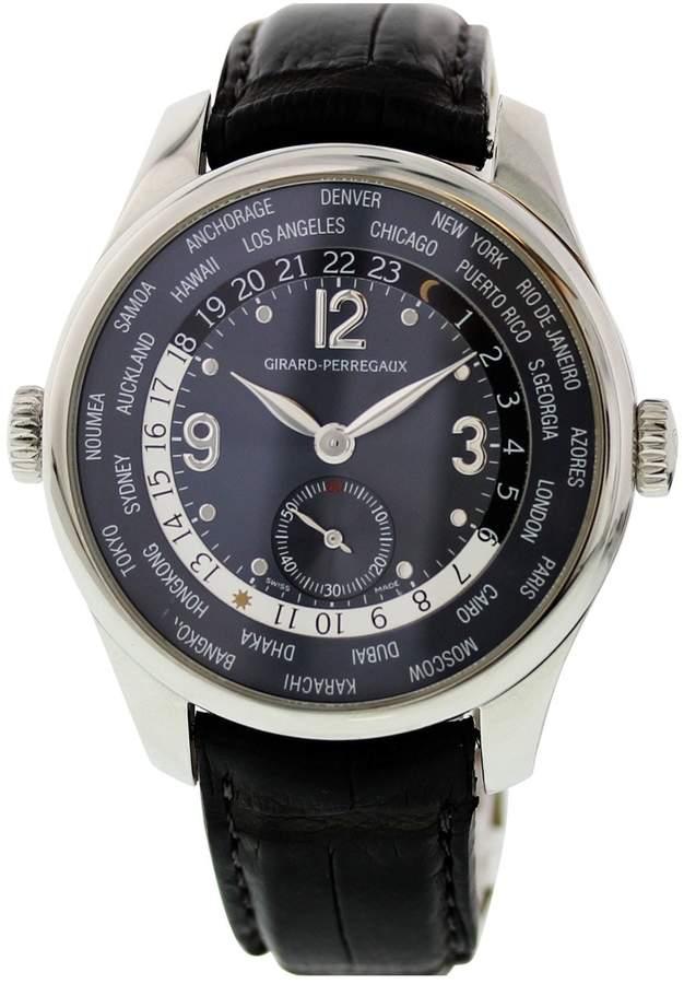 Girard Perregaux Black Steel Watches