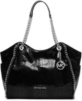 Michael Kors Chelsea Snake-Embossed Shoulder Bag