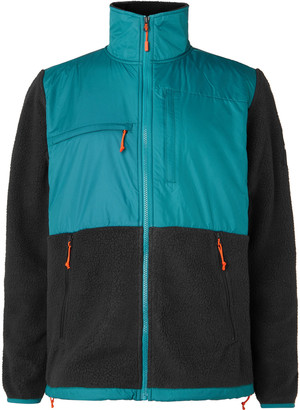 The North Face Denali Panelled Fleece and Shell Jacket - Men - Blue