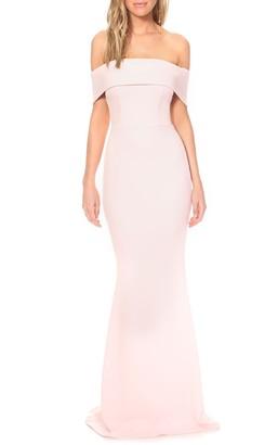Katie May Legacy Crepe Mermaid Gown