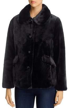 Kate Spade Faux Fur Short Coat