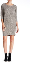 Bobeau Melange Knit Cocoon Dress