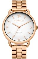 Fiorelli Ladies rose gold tone bracelet watch