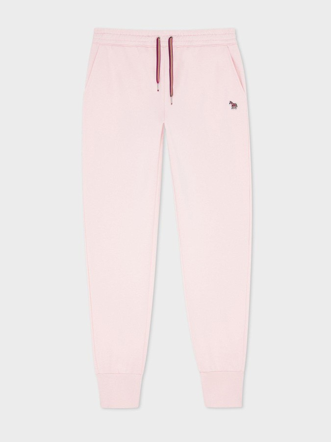 Thumbnail for your product : Paul Smith Organic Zebra Sweatpants - Pink