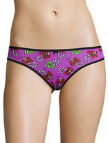 Betsey Johnson Lace Back Bikini Panties
