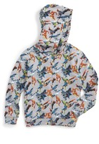 Eleven Paris Toddler Boy's Little Elevenparis Super Heros Graphic Zip Hoodie