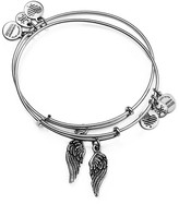 Alex and Ani Wing Expandable Wire Bangles, Set of 2