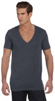 B.ella + Canvas Unisex Jersey Short-Sleeve Deep V-Neck T-Shirt - ,L