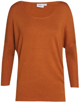 Saint Tropez Mila Sweater Brown - S