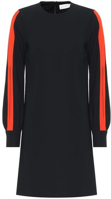 Victoria Victoria Beckham Long-sleeved crApe midi dress