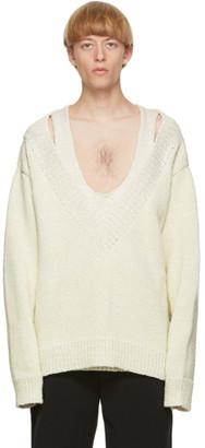 Bottega Veneta Off-White Knitted Sweater