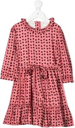 Marie Chantal Freya polka dot print dress