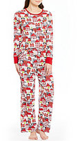 Sleep Sense Winter Village Pajamas