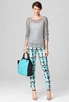 Milly Katelyn Ladder Stitch Sweater
