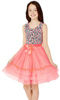 Betsey Johnson BJ GIRLS LEOPARD PARTY DRESS