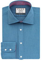 Thomas Pink Sherrington Texture Classic Fit Button Cuff Shirt