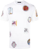 Versace Ancient Greek print T-shirt - men - Cotton - S
