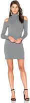 Splendid Waffle Loose Knit Mini Dress