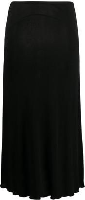 Jil Sander Mid-Length High Waist Skirt