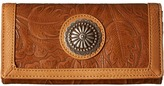 American West Dallas Flap Wallet