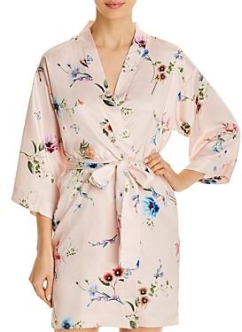 Flora Nikrooz Floral Print Wrap Robe