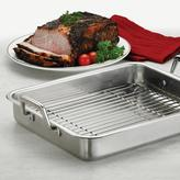 Tramontina Gourmet Prima 16.5 in. Roasting Pan with Basting Grill