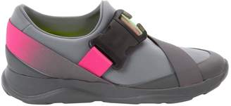 Christopher Kane Grey Synthetic Trainers