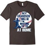 Baseball Mama Papa, My Grandson Is A Catcher T Shirt
