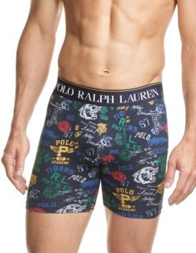 Polo Ralph Lauren Men's Printed Stretch Jersey Boxer Briefs