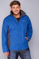 Yours Clothing REGATTA Blue & Black Matt Jacket
