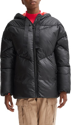 Noize Belle Oversize Hooded Puffer Coat