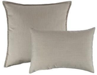 Austin Horn Classics Flax Combo Outdoor Sunbrella Pillow