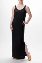 Go 2 Sleeveless Black Maxi Dress