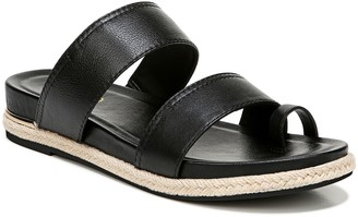 Franco Sarto Toe-Strap Leather Sandals - Bolivia