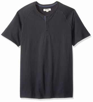 Goodthreads Amazon Brand Short-sleeve Sueded Jersey Henley Shirt
