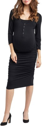 Nom Maternity Henley Maternity Dress