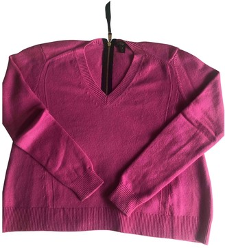 Louis Vuitton Pink Cashmere Knitwear for Women