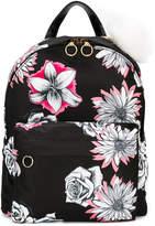 Versace floral print backpack