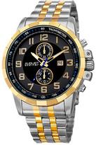 August Steiner Men&s Swiss Quartz Bracelet Watch