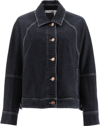 See by Chloe Oversized Denim Jacket