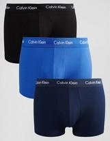 Calvin Klein Trunks 3 Pack Low Rise