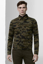J Brand Gorn Trucker Jacket in Jungle Cloud Camo