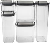 OXO Steel Five-Piece POP Container Set
