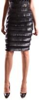 Elisabetta Franchi Women's Black Polyamide Skirt.